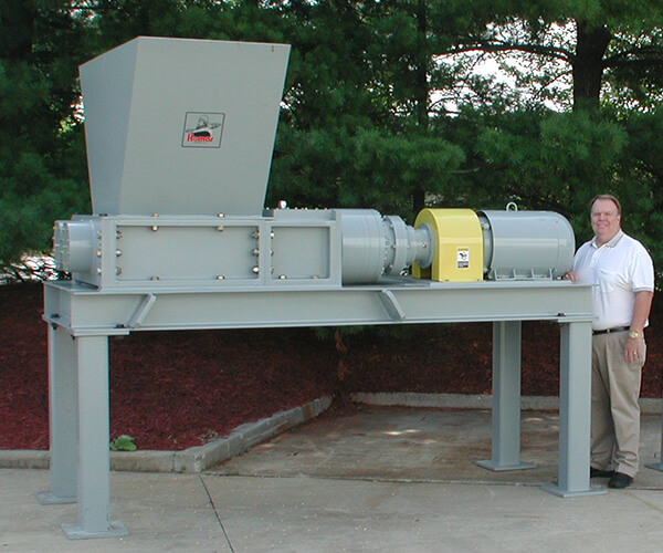 Dual-shaft 30 series shredder