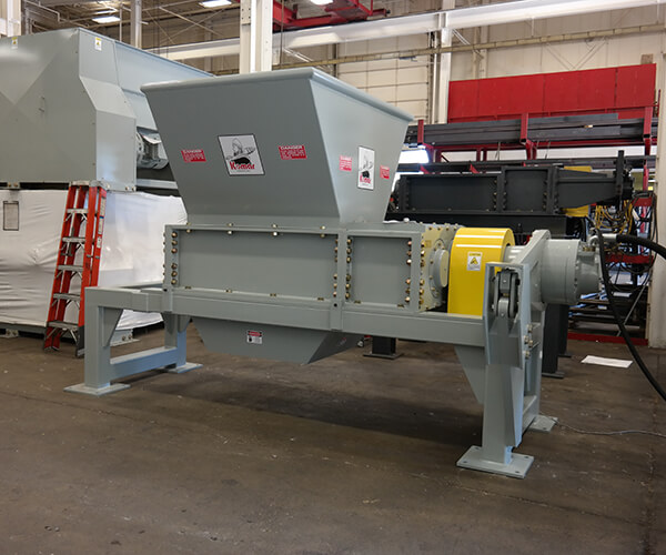 Dual-shaft 36 series shredder