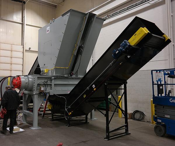 Dual-shaft 44 series shredder