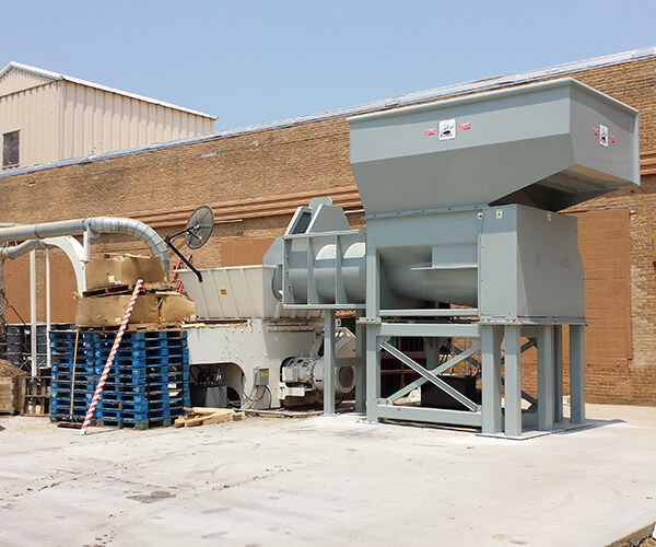 one-shaft shredder projects