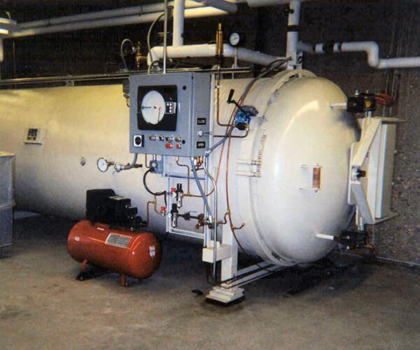 autoclave sterilization unit