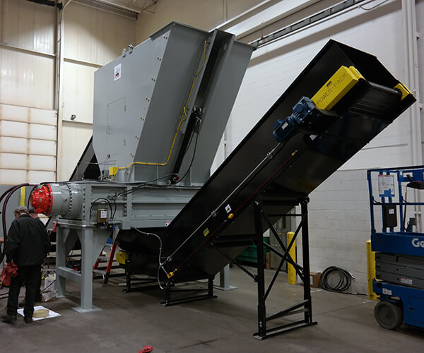 equipment installed at Pine Bluff