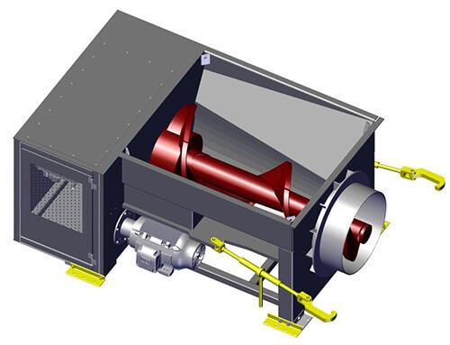 Komar HA-100W auger compactor