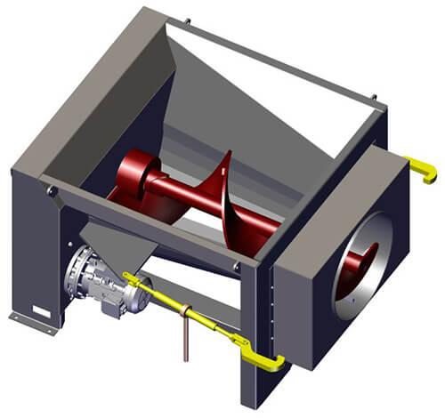 Komar CA-20 auger compactor