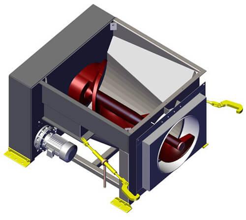 Komar EM-20G auger compactor