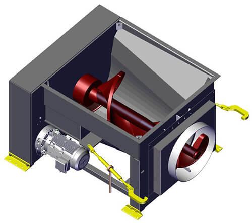 Komar EM-40GHS auger compactor