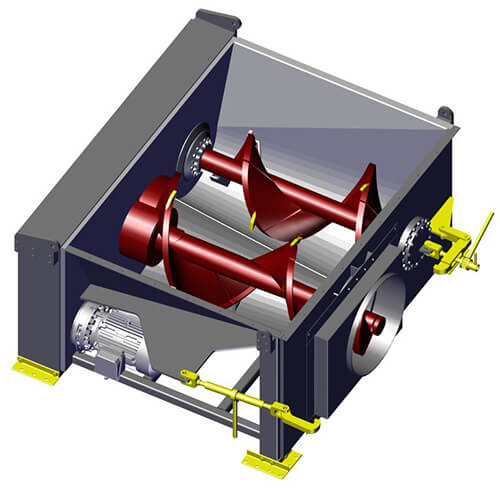 Komar EMD-80W auger compactor