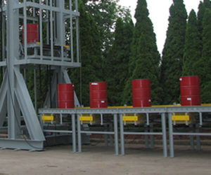 Staging Conveyor single drum