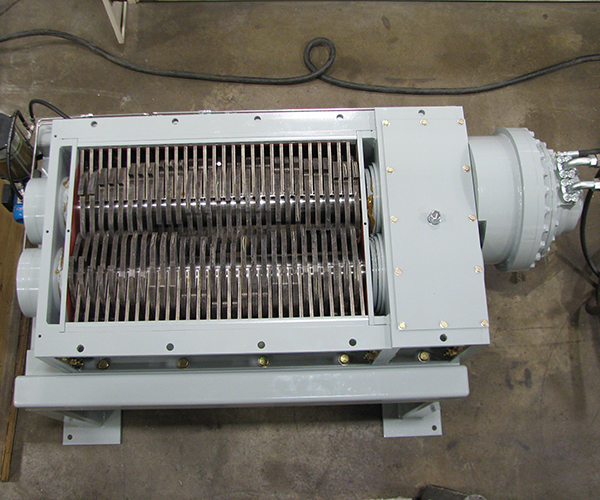 shredder installed at MCT