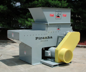 piranha for wood waste from cut-offs