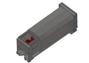 CASC-15 High auger compactor