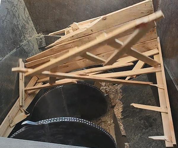 equipment installed at Pilkington