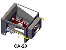 CA-20 model size comparison