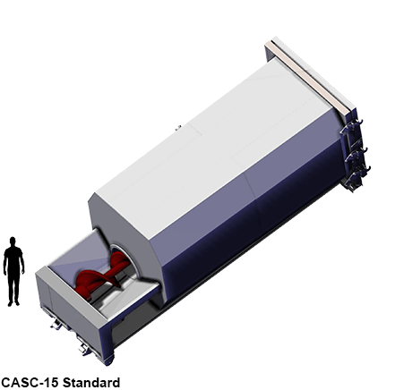 CASC-15 Standard model size comparison