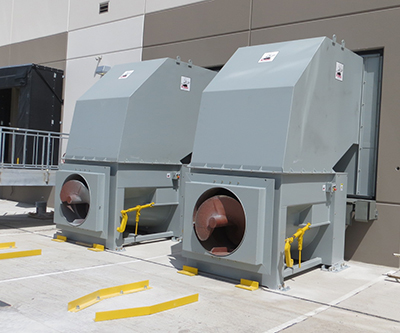 equipment installed at Nebraska Furniture Mart