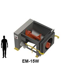 EM-15W model size comparison