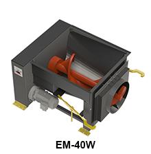 EM-40W model size comparison
