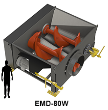 EMD-80W model size comparison