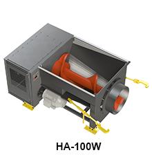 HA-100W model size comparison