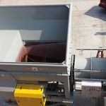 Processing Chamber of Auger-Pak™ EM-60W with Compression End Gate