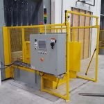 Auger-Pak™ EM-40GHS, Dock Plugin Installation, Rear Feed Hopper, Tipper-Fed, Inside View