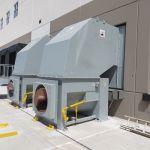 Auger-Pak™ EM-20G, Dock Plugin Installation, Rear Feed Hopper, Hand-Fed, Outside View