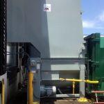 Auger-Pak™ EM-20G, Dock Plugin Installation, Rear Feed Hopper, Hand-Fed, Side View