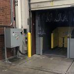 Auger-Pak™ EM-40GHS, Dock Plugin Installation, Rear Feed Hopper, Tipper-Fed from Inside Extended Hopper, Inside View w/PLC