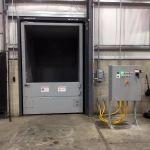 Auger-Pak™ EM-40W, Dock Plugin Installation, Rear Feed Hopper, Forklift and Hand-fed, Inside View