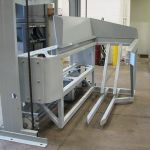 Verticle Lift Cart Tipper, Side Loaded