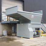 Yard Installation, Right-Feed Flip Hopper, Forklift-Fed, Hand-fed from Platform