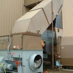 Retrofit Installation to Existing Chute, Left Feed Hopper, Conveyor-Fed