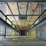 Palletized Waste Lift, Inside Aerial View