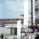 Four Drum Enclosed Lift with Airlocks