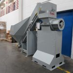 EPC 5 with Cleated Rubber Belt Conveyor and Integrated PLC
