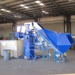 EPC 5 with Cleated Rubber Belt Conveyor