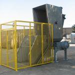 20 Series Dual-Shaft Hydraulic Shear Shredder, with cart tipper
