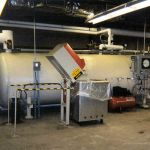 Three Cart Autoclave with Cart