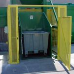 Cart Tipper with Gate Enclosure