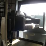 Open at the Dock Installation, Rear Feed Hopper, Forklift and Hand-Fed, w/PLC, Inside View