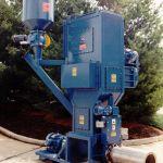Shred-Feed System, Quad-Shear Shredder over EF-12-20 feeder