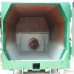 Processing Chamber Standard Height, Inside of the Bin View