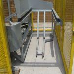 Cart Tipper Lifting Mechanism