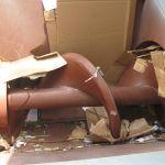 Auger Screw Processing Cardboard