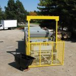 Tipper side of Self-Contained with cart